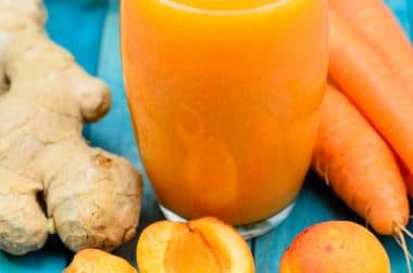 apricot carrot ginger cold pressed juice