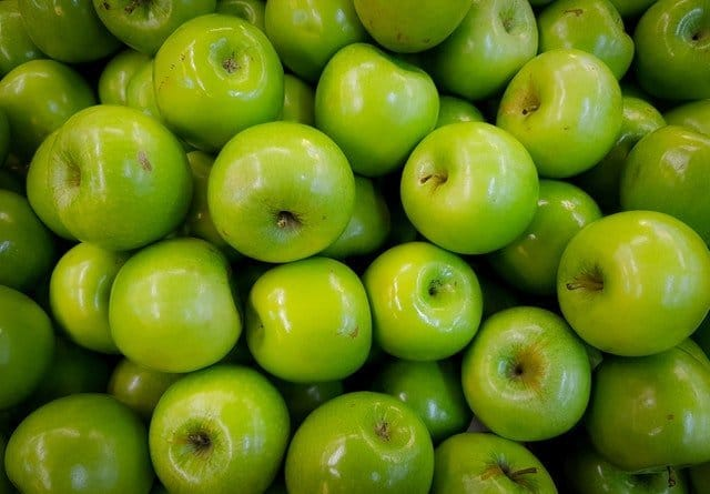 load of green apples