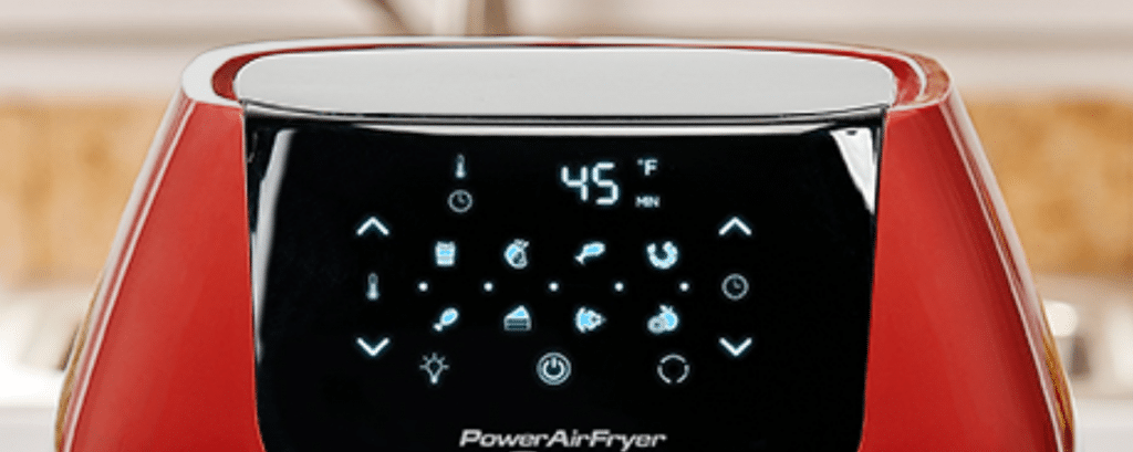 Power XL Air Fryer Digital Controls